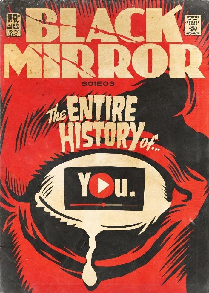 Черное зеркало история всей твоей жизни