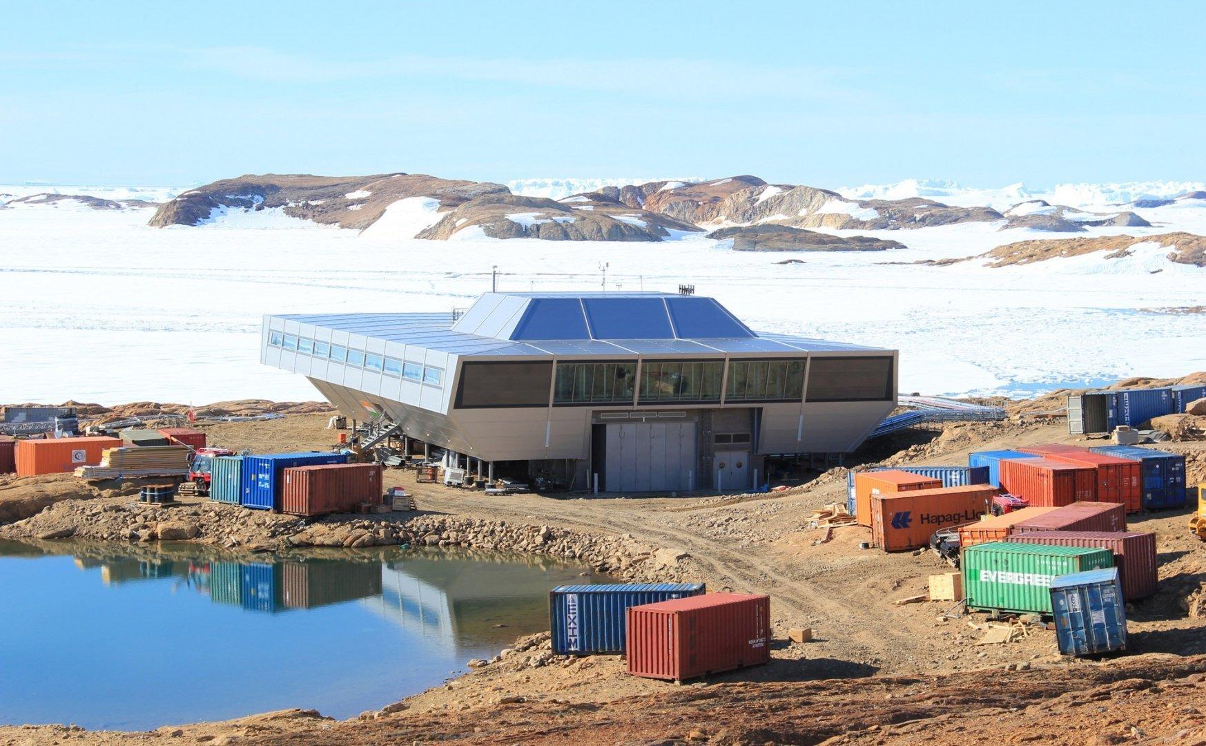 Картинки научных станций в антарктиде