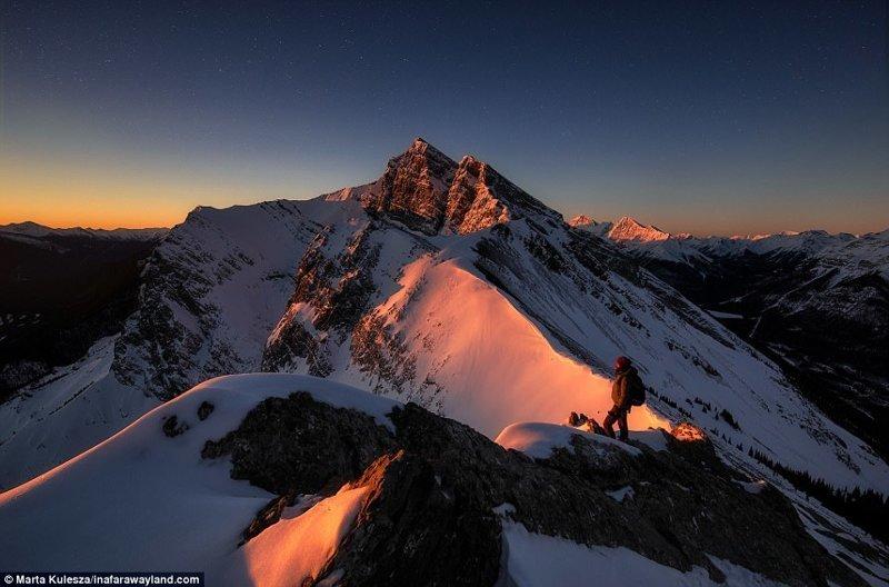 Планинският връх Ha Laing, Канада в света, красиви снимки, красива гледка, пейзажи, природа, пътуване, снимки, фотографи