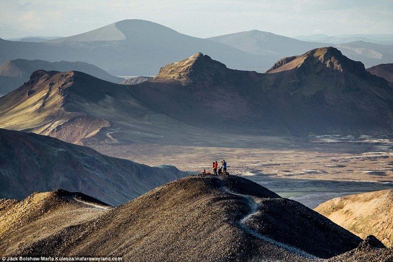 Планината Landmannalaugar в Исландия в света, красиви снимки, красива гледка, пейзажи, природа, пътуване, снимки, фотографи