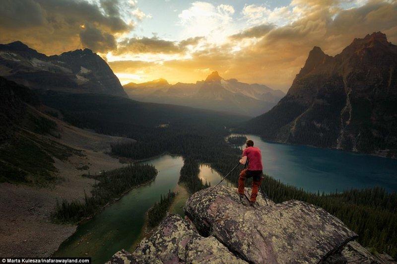 Плато Opabine близо до езерото O'Hara в Канада в света, красиви снимки, красива гледка, пейзажи, природа, пътуване, снимки, фотографи