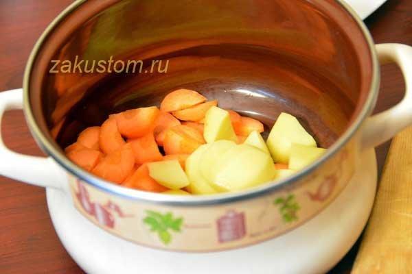 Суп пюре из тыквы простой рецепт