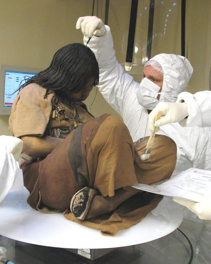 Ледяная дева Ледяная дева инков, Перу Мамонты, интересное, мумии, находки, палеонтология, подо льдом, фото
