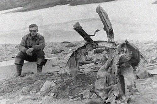 В Арктике нашли обломки самолета Сигизмунда Леваневского Мамонты, интересное, мумии, находки, палеонтология, подо льдом, фото
