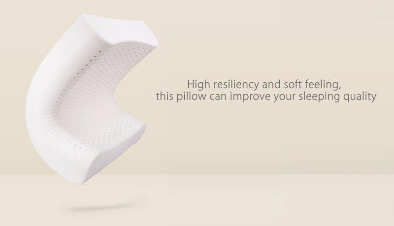 5. Эластичная подушка из латекса от Xiaomi Xiaomi, aliexpress, вещи, гаджет, интернет-магазин, подарки, покупки