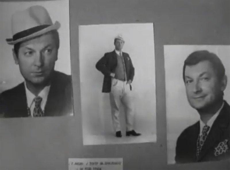 Сам же Гайдай склонялся к двум другим претендентам - Гергия Вицина (которого к этому времени уже успел снять в пяти фильмах) Андрей Миронов, Козадоев, бриллиантовая рука, леонид гайдай, фотопробы