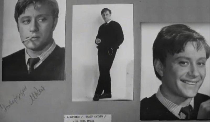 И нового для себя актёра - Андрея Миронова Андрей Миронов, Козадоев, бриллиантовая рука, леонид гайдай, фотопробы
