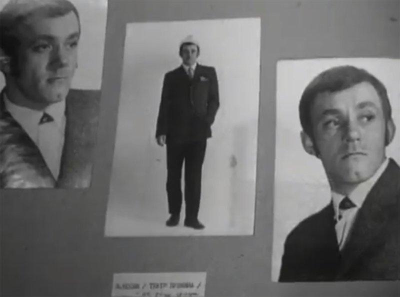 """Вот, к примеру, в образе """"Графа""""  Валерий Носик. Гайдай пробовал его ещё на роль Шурика в """"Операцию """"Ы"""". Но сыграл он там, как вы помните студента-картёжника Андрей Миронов, Козадоев, бриллиантовая рука, леонид гайдай, фотопробы"""