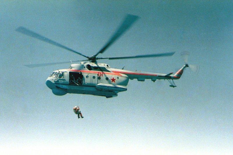 Ми-14 (по классификации НАТО: «Туман») - морской многоцелевой вертолет-амфибия берегового базирования, созданный на базе Ми-8.  Вертолеты России, Ми-1, Ми-24, Ми-8, авиаконструктор Михаил Миль