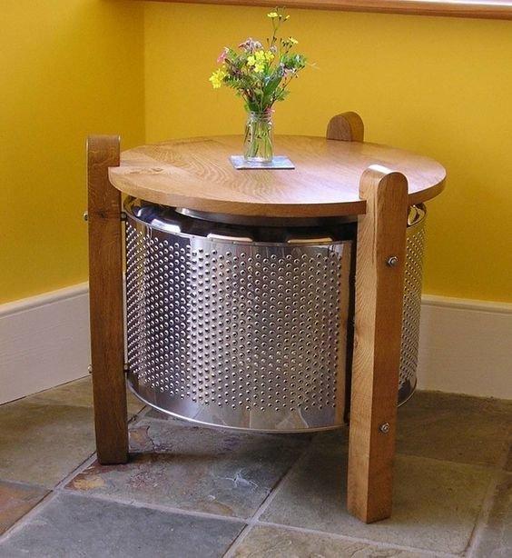 5. Кофейные столики Фабрика идей, лайфхаки для дома и сада, переделки, своими руками, стиральная машина