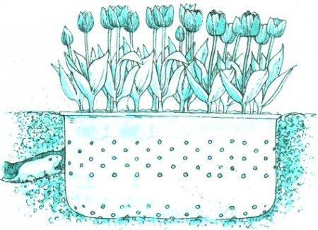 10. Контейнер для луковичных Фабрика идей, лайфхаки для дома и сада, переделки, своими руками, стиральная машина