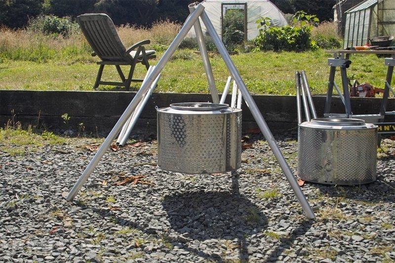 Более сложная и более устойчивая модель на треноге Фабрика идей, лайфхаки для дома и сада, переделки, своими руками, стиральная машина