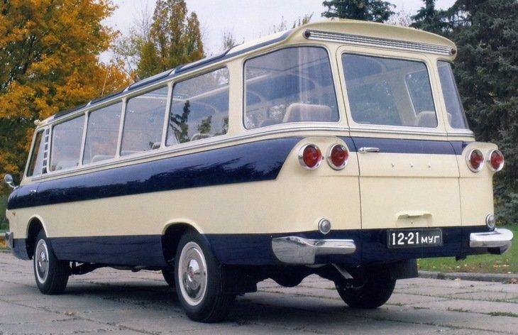 ЗИЛ-118 Юность ЗИЛ-118 «Юность», автобус, фоторепортаж