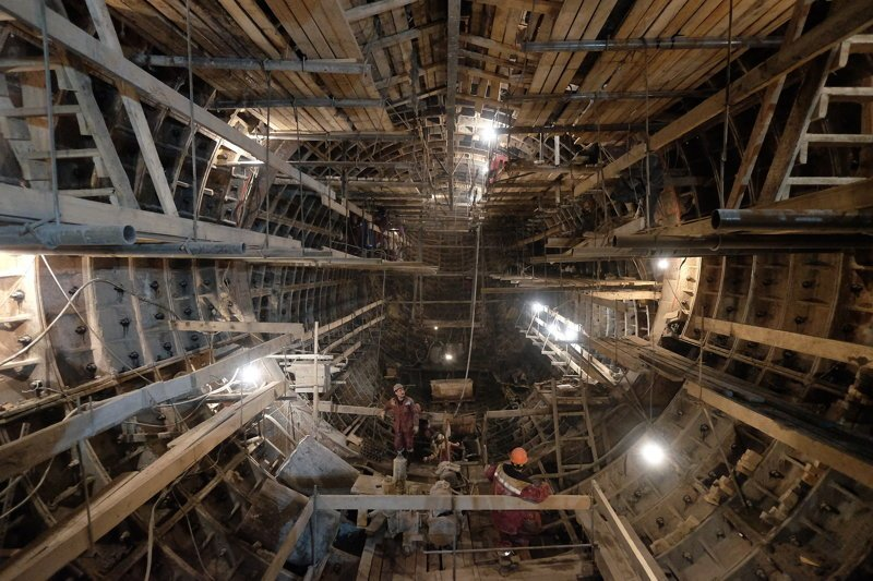 Метро, которого нет на карте метро, москва, строительство, фото