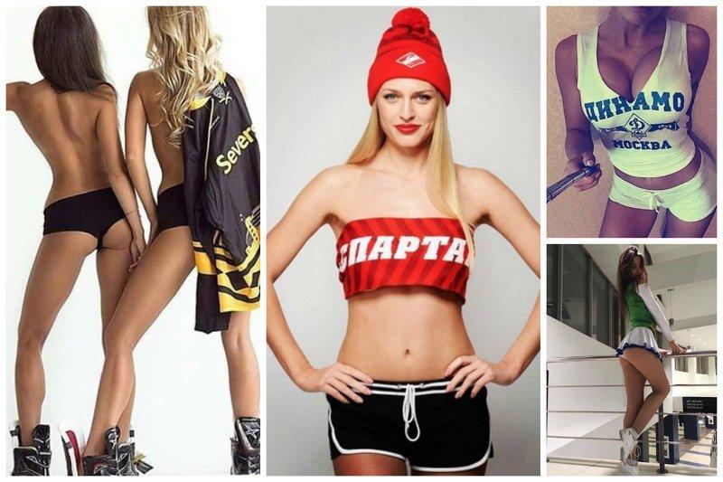 Мощный стимул заставить сына заниматься хоккеем ХКЛ, болельщицы, группа поддержки, красивые девушки, хоккей, черлидеры