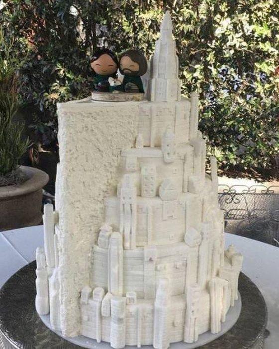 Шедевральный свадебный торт день, животные, кадр, люди, мир, снимок, фото, фотоподборка