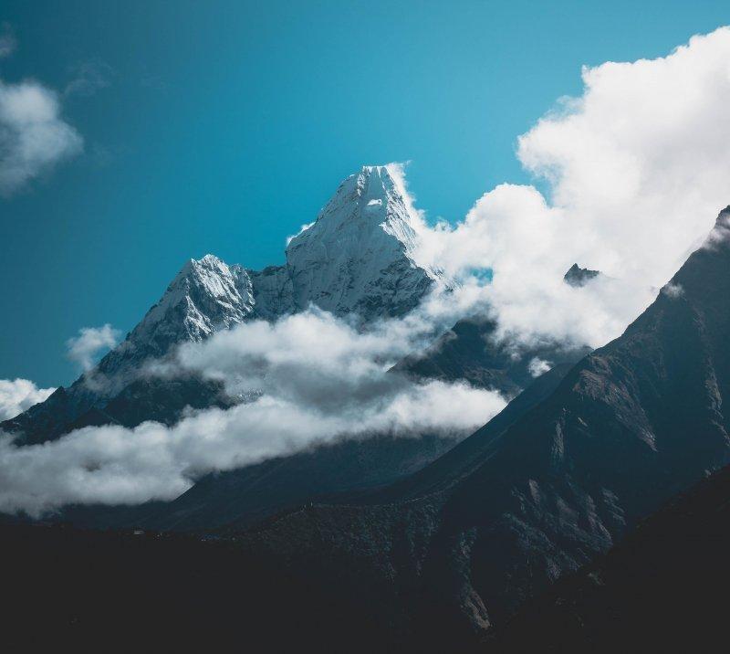 Вершина Ама-Даблам, Гималаи, Непал день, животные, кадр, люди, мир, снимок, фото, фотоподборка
