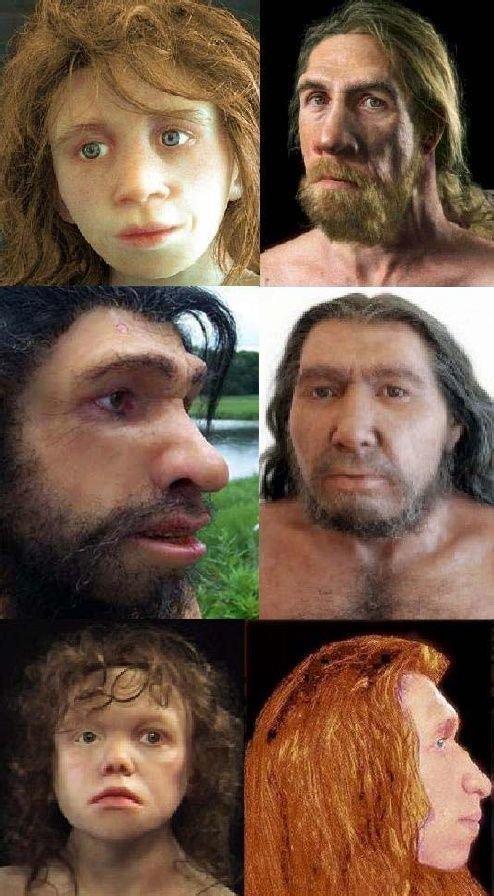 Еще лица неандертальцев антропологическая реконструкция, восстановление, люди прошлого, наука, черепа