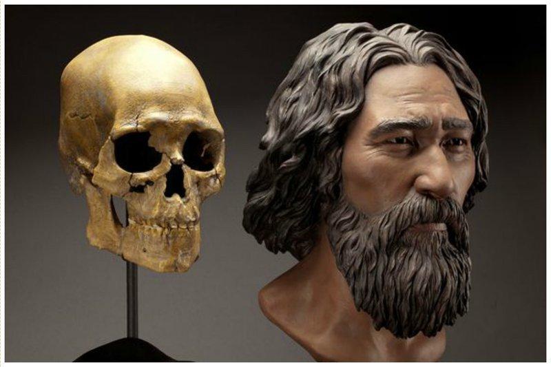 Самые старые человеческие останки найденые в Северной Америке, но не связанные с коренными американцами. антропологическая реконструкция, восстановление, люди прошлого, наука, черепа