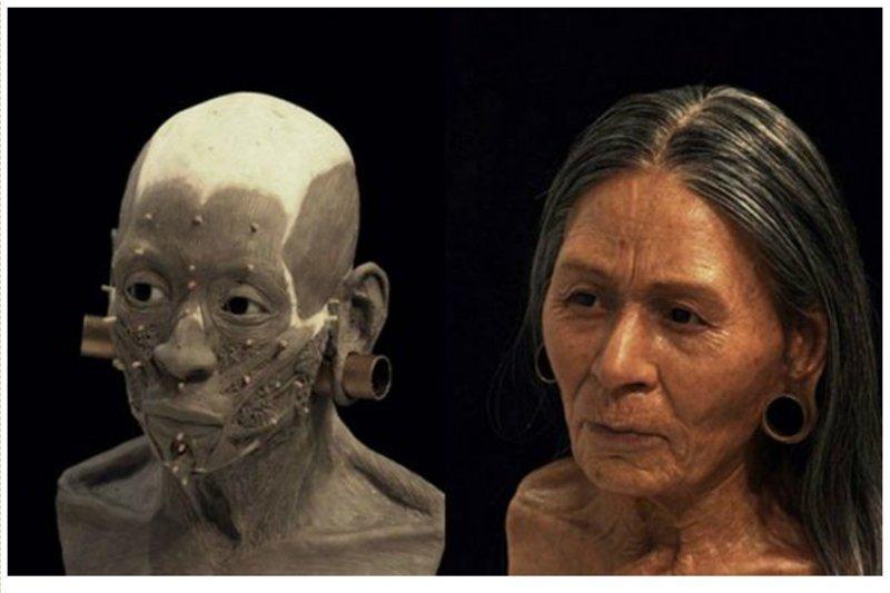 Перуанская королева, 1200 лет антропологическая реконструкция, восстановление, люди прошлого, наука, черепа