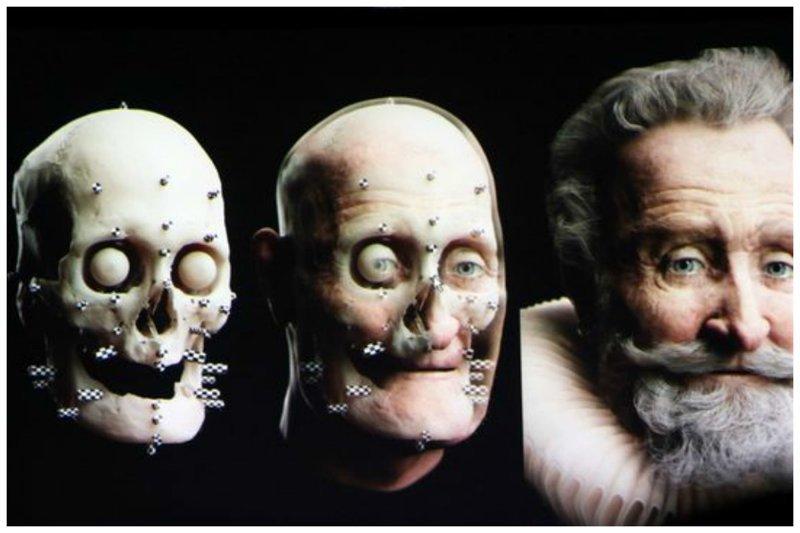 Французский король Генрих IV антропологическая реконструкция, восстановление, люди прошлого, наука, черепа