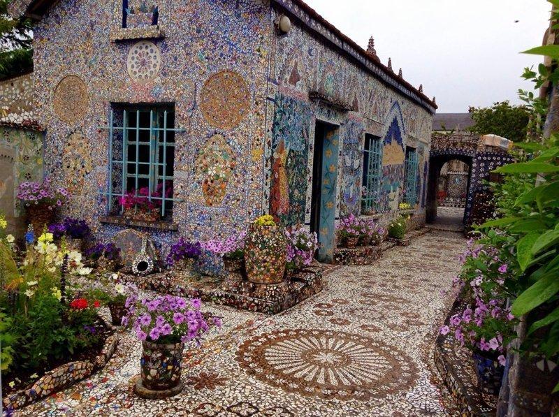 Осколочных дел мастер Раймон Исидор, в мире, дом, искусство, красота, мозаика, удивительно