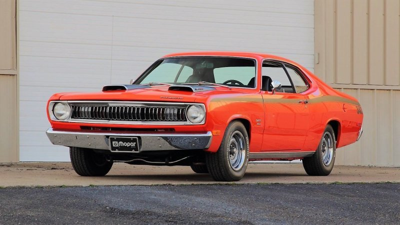 Plymouth Duster Twister 1971 года.