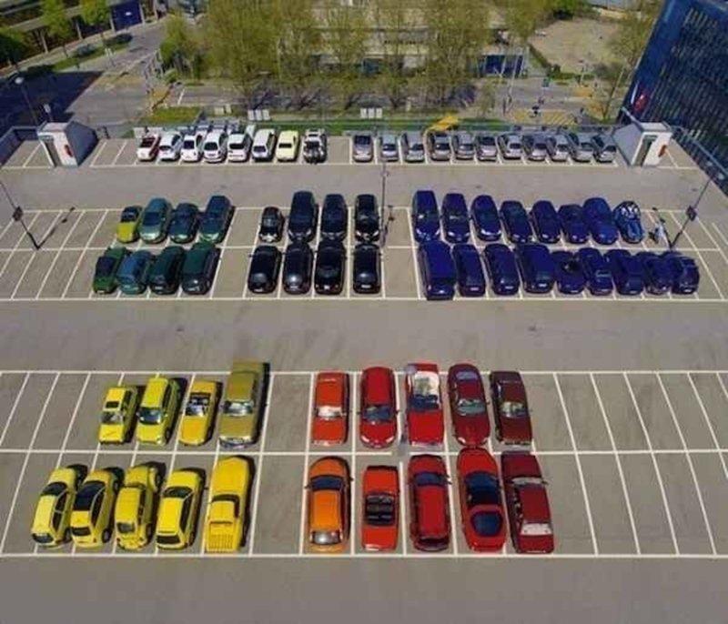 1. Парковка в раю перфекциониста жизнь, мир, перфекционизм, подборка, совершенство, фото