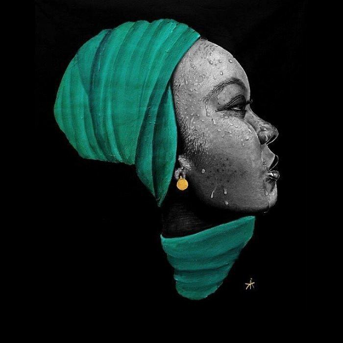 """""""Мама Африка"""", 2014 искусство, карандаш, картина, нигерия, портрет, реализм, художник"""
