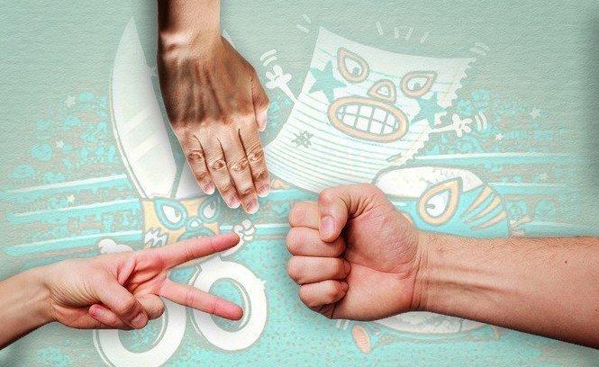 """11. Стратегия победы в игре """"камень-ножницы-бумага"""" абсурдные теории и открытия, британские ученые, наука в массы, открытия"""