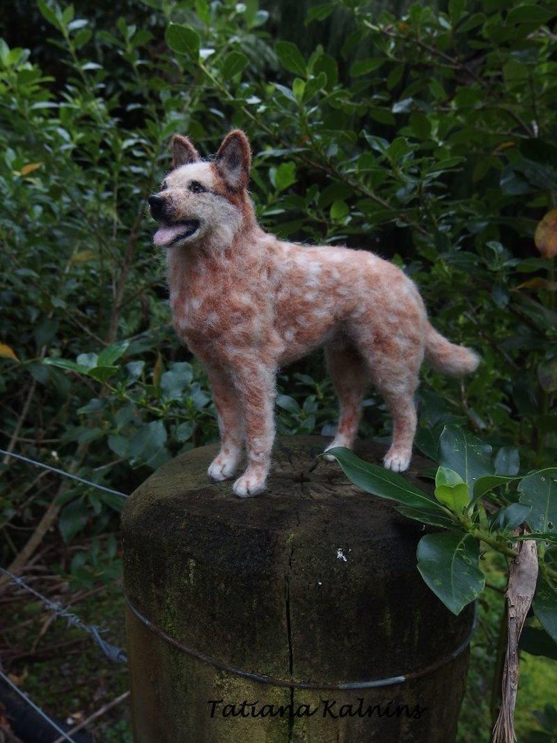 Австралийская пастушья собака валяние, войлок, животные, рукоделие, ручная работа, своими руками, творчество, фото