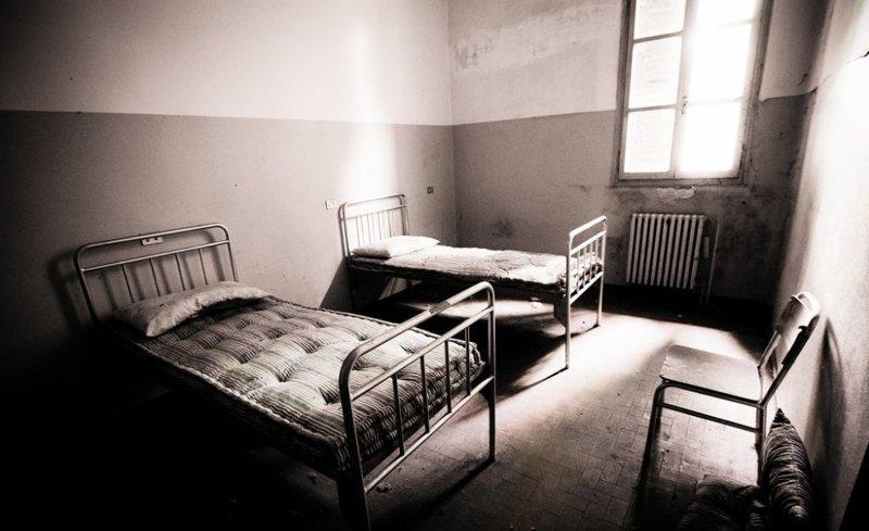 Бывшая итальянская больница Granzette больницы, жутковато, заброшенные места, фото