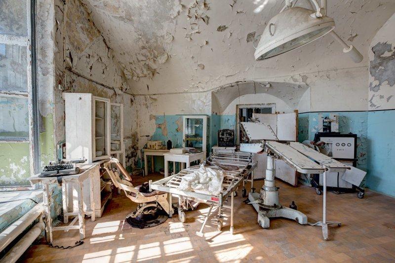 А это пример советской медицины прошлого больницы, жутковато, заброшенные места, фото