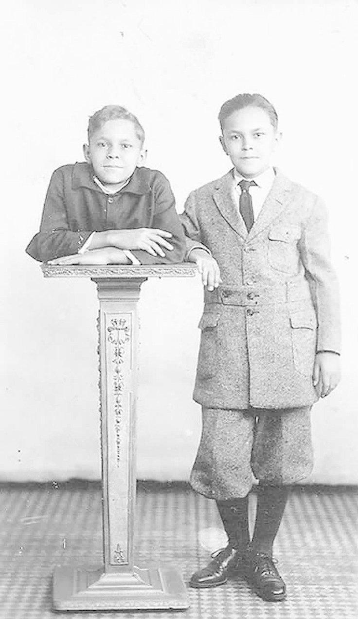 8. На фото Роберт и его брат-близнец Джонни Эк интересно, история, люди-мутанты, мутации, прошлое, фото