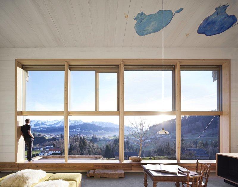 Лофт в бывшем амбаре дизайн интерьера, интерьер, квартиры, лофт