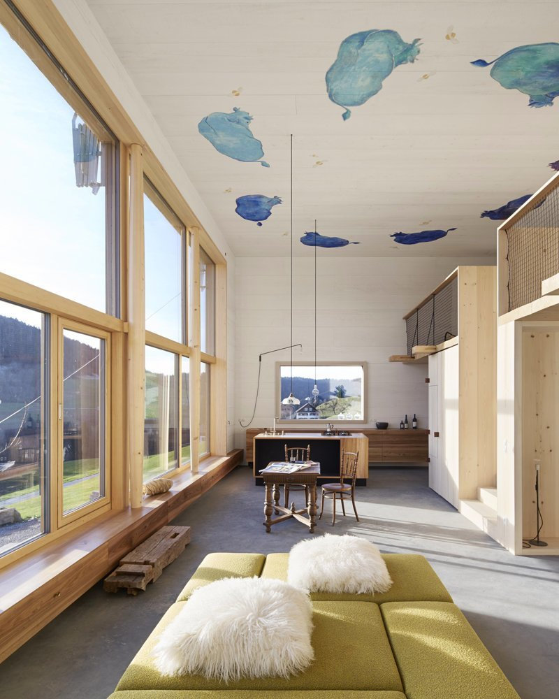 Интерьер в стиле лофт: когда не сразу понятно был ремонт в квартире или нет дизайн интерьера, интерьер, квартиры, лофт