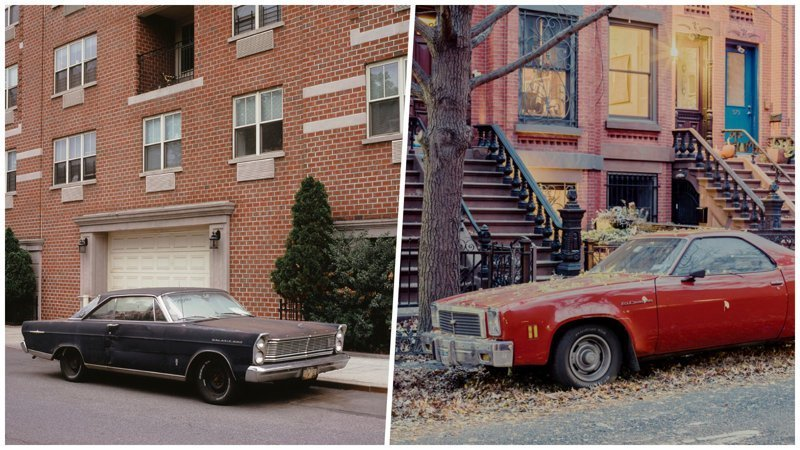 Припаркованные автомобили в объективе фотографа Френка Бобота припаркованные автомобили, фотографии, френк бобот