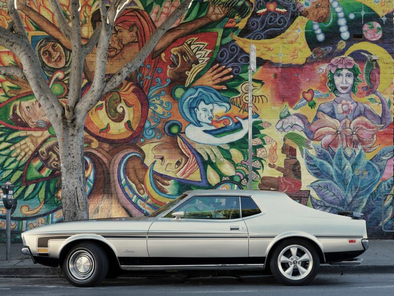 Parked car, 24th Street, San Francisco припаркованные автомобили, фотографии, френк бобот