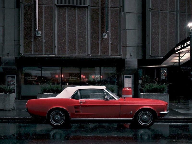 Parked Car, Midtown #2, Manhattan припаркованные автомобили, фотографии, френк бобот