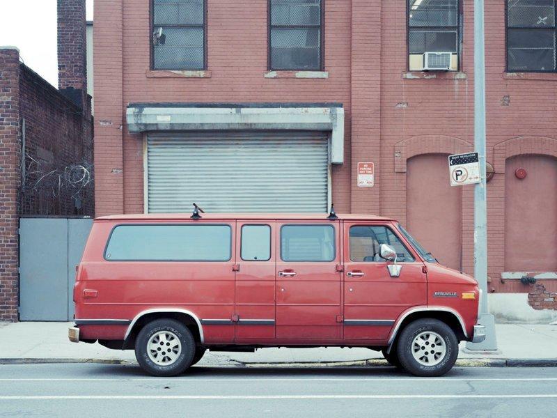 Parked car, Gowanus #4, Brooklyn, NY, 2014 припаркованные автомобили, фотографии, френк бобот