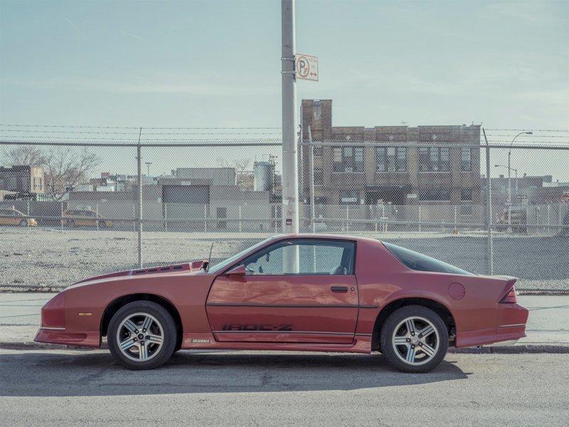 Parked Car, Gowanus #6, Brooklyn припаркованные автомобили, фотографии, френк бобот
