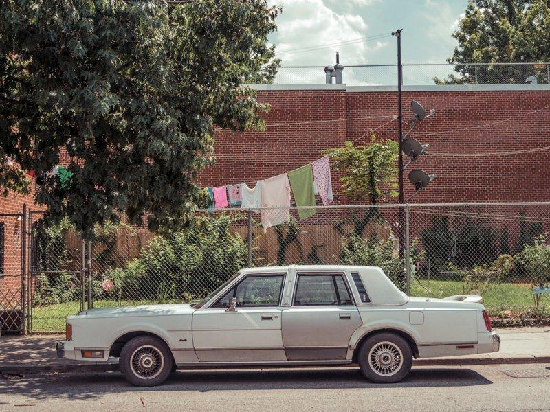 Parked car, Keap Street, Brooklyn припаркованные автомобили, фотографии, френк бобот