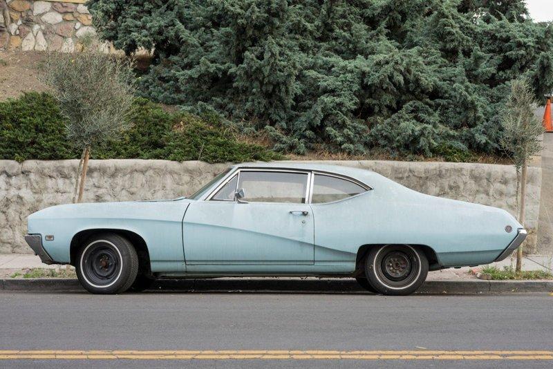 Parked car, Sivler Lake #2, Los Angeles припаркованные автомобили, фотографии, френк бобот