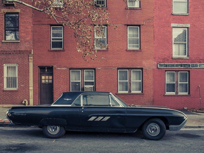 Parked Car, Williamsburg #2, Brooklyn припаркованные автомобили, фотографии, френк бобот