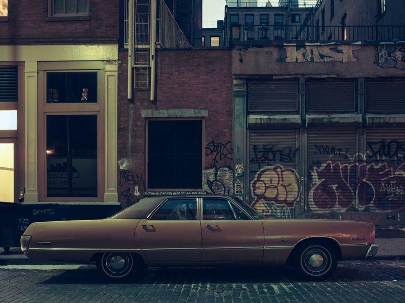 Parked car Soho #5, 2014 припаркованные автомобили, фотографии, френк бобот
