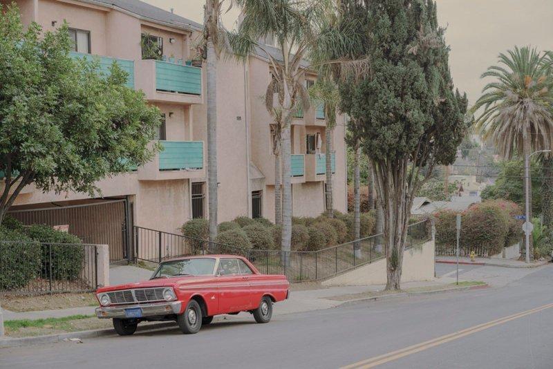 Parked car, Sivler Lake #4, Los Angeles припаркованные автомобили, фотографии, френк бобот