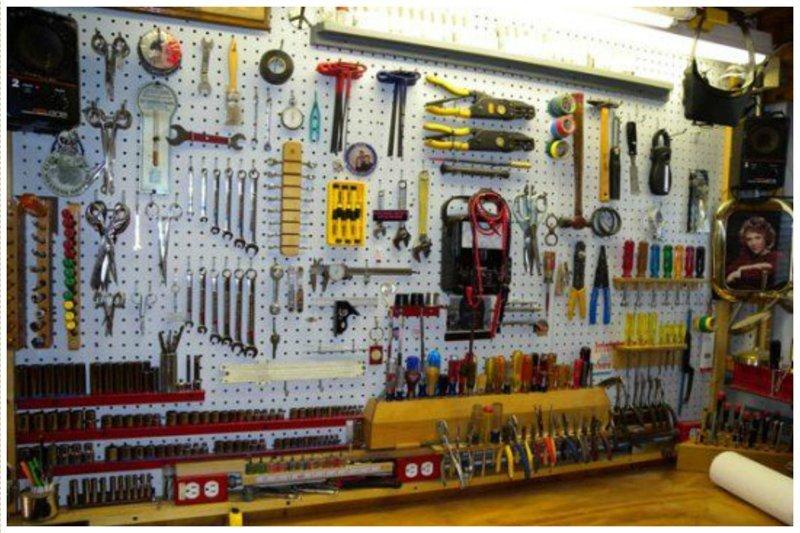 Скажите мне, что так не бывает! Фабрика идей, гараж, инструменты, красота, перфекционизм, порядок, уют