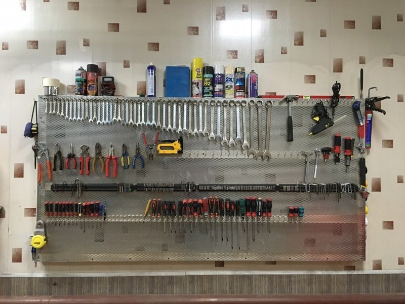 Гаражный оргазм Фабрика идей, гараж, инструменты, красота, перфекционизм, порядок, уют