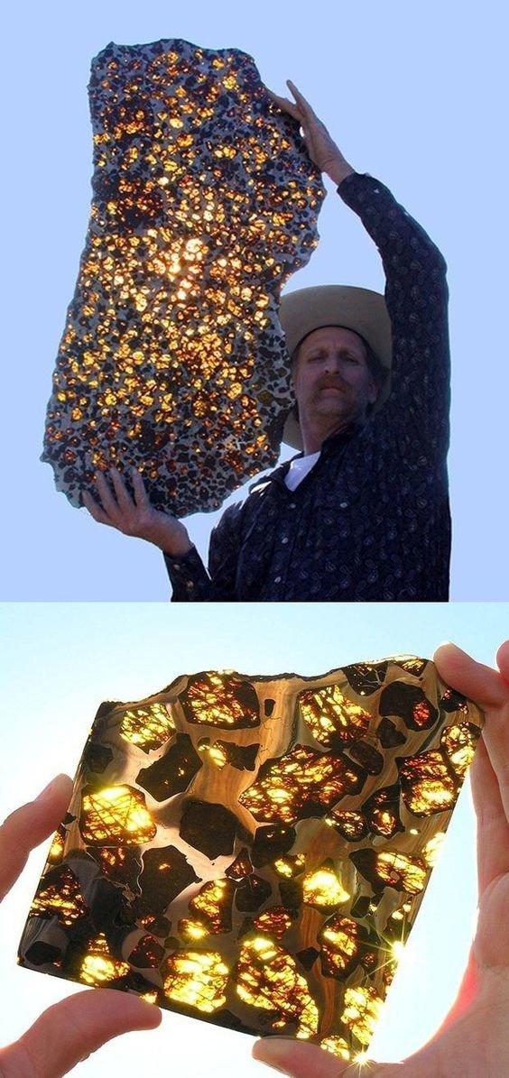 Самый большой кусок  метеорита драгоценности, камни, огромные, полудрагоценные, самые большие, факты