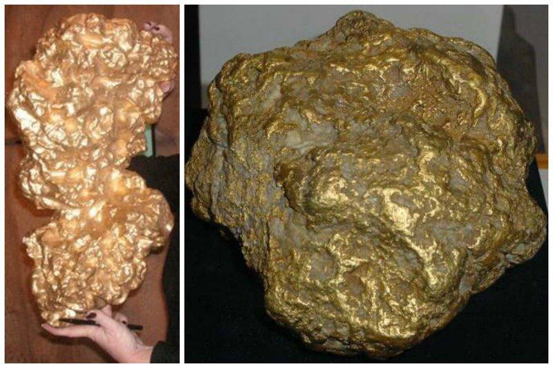 Золото - самородок 27,21 кг и 10 килограмм. Для оправы ваших камушков драгоценности, камни, огромные, полудрагоценные, самые большие, факты